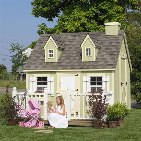backyard playhouses little cottage 6 x 8 cape cod wood playhouse outdoor