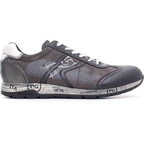 sneakers nero giardini uomo nero giardini sneaker uomo pelle camoscio a503770u 100