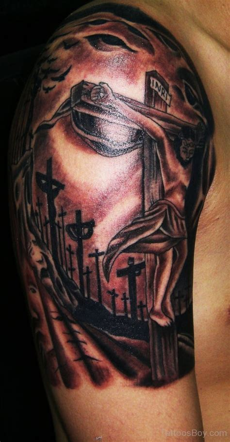 jesus tattoo half sleeve jesus tattoos tattoo designs tattoo pictures page 13