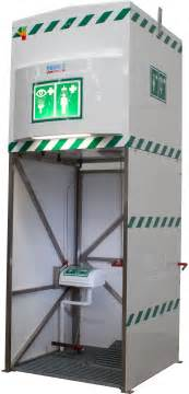 emergency safety showers decontamination eyewash units