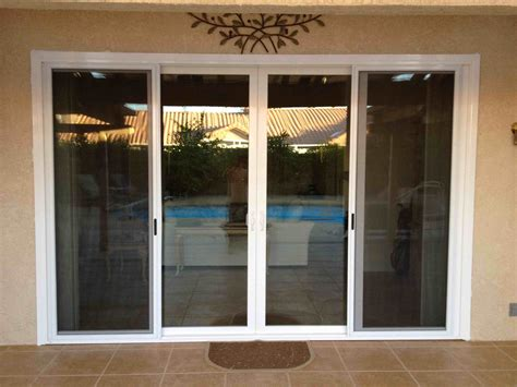 Milgard Patio Doors Vista Ca United States 16 Ft Milgard 4 Panel Sliding Glass Door Milgard Aluminum Sliding Glass