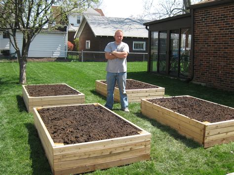 bp builds four raised garden beds thoughts from a redhead