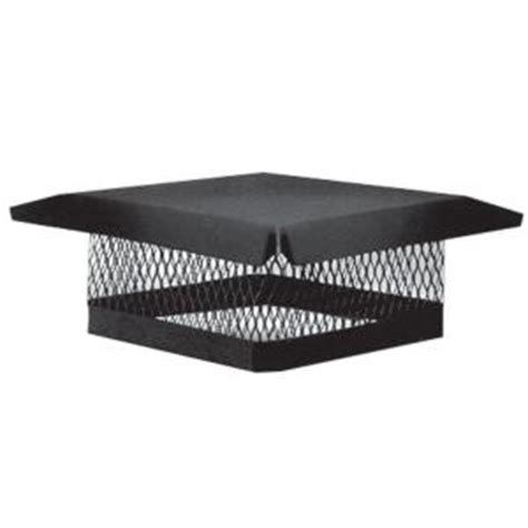 home depot chimney cap master flow 9 in x 9 in galvanized steel fixed chimney