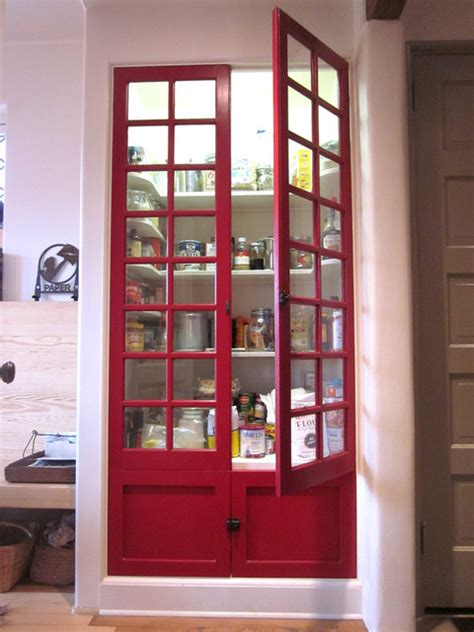 pantry doors modern kitchen louisville  rock