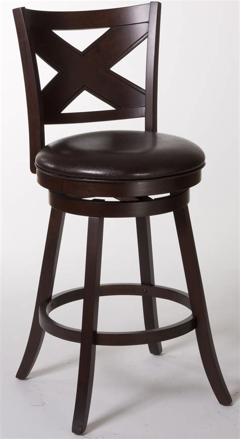 Hillsdale Bar Stools Clearance by Hillsdale Wood Stools Ashbrook Bar Stool With X Back