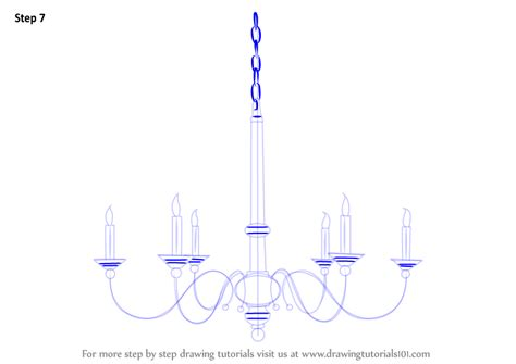 how to draw a chandelier learn how to draw a chandelier furniture step by step