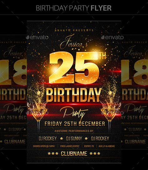 birthday flyer templates free 17 birthday templates free psd eps word pdf documents free premium templates