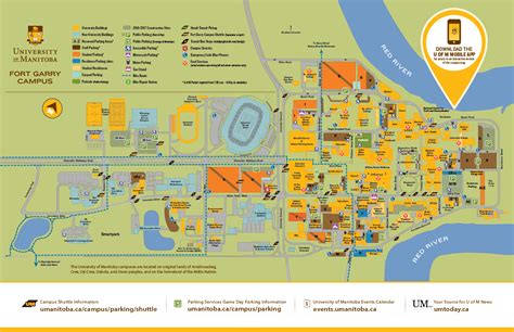 U Of M Search Cus Maps Of Manitoba