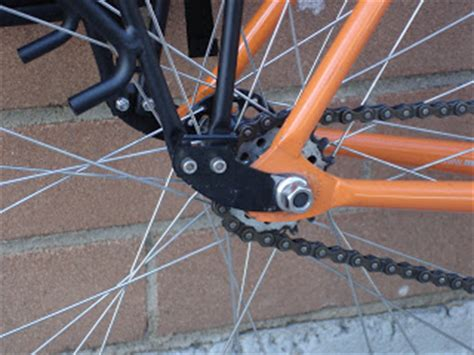 Fixed Gear Front Rack by Fitting A Rear Rack On Frame Without Eyelets Bikeradar