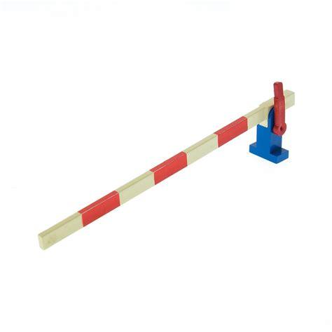 eisenbahn schranke 1 x lego system eisenbahn schranke weiss rot hebel rot