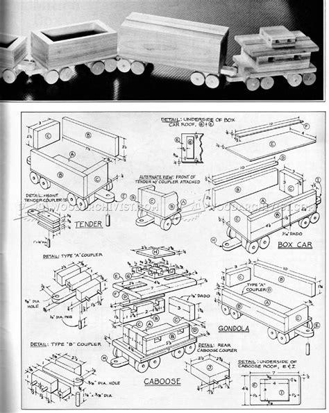 Wooden Train Plans ? WoodArchivist