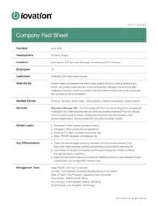 Company Fact Sheet by 301 Moved Permanently