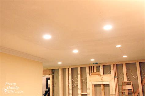 how to install recessed lighting how to install recessed lights pretty handy girl