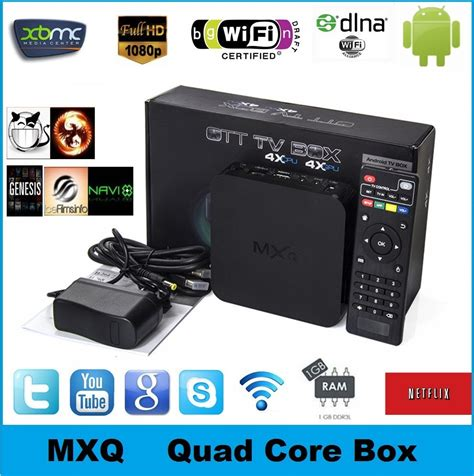 Android Tv Box Mxq oem 2015 mxq android amlogic s805 4 4 cs918 mx minix 1 mxq tv box