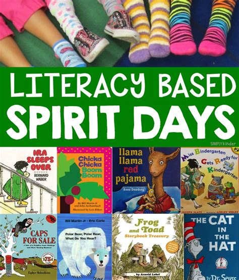 themes for reading day literacy spirit day ideas simply kinder