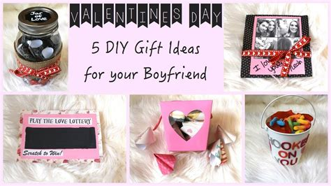 gift ideas for boyfriend cute diy gift ideas for your