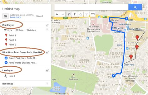 design a google map create save export and download kml file from google map