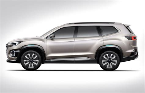 suv subaru subaru previews new 7 seat suv with viziv 7 concept