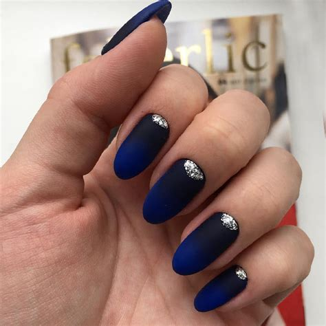blue ombre nails gradient nails blue ombr nail design blue to white t