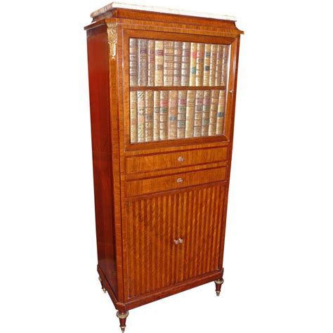 Book Cabinets For Sale by Faux Book Cabinet With Tambour Slide Living Rooms