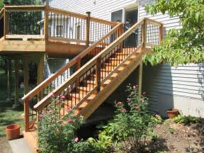 Deck To Patio Transition by Deck Stairs Ideas How To Choose The Best Stair Design For