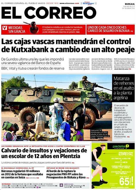 diario el correo noticias de pasco 17 mejores im 225 genes sobre 18 01 2013 portadas periodicos