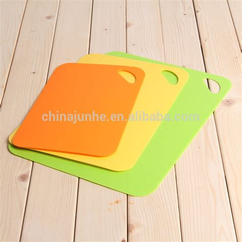 Buying Kitchen Knives wholesale non slip plastic large cutting boards flexible