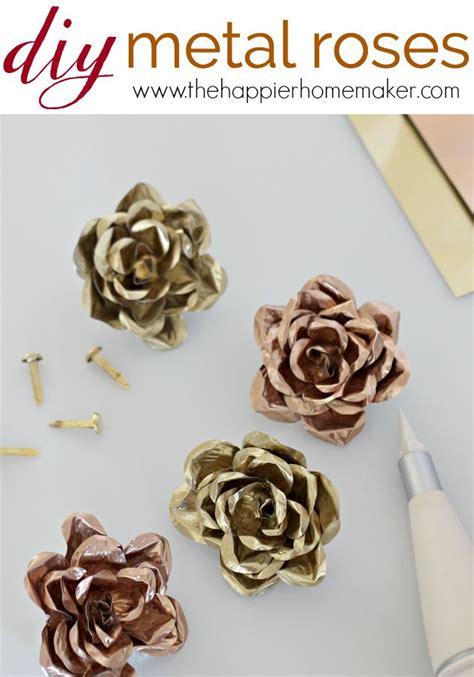 diy metal crafts diy metal roses