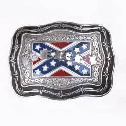 Give a rebel yell when you wear this crumrine rebel flag belt buckle