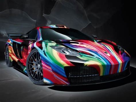 custom mclaren mp4 12c custom mclaren mp4 12c colorpalooza taste the rainbow
