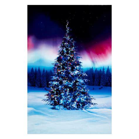all aglow digital christmas tree 30 quot panel borealis