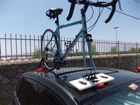 Bike Racks For Cars Roof Mount by Diy Suction Mounted Roof Rack Make