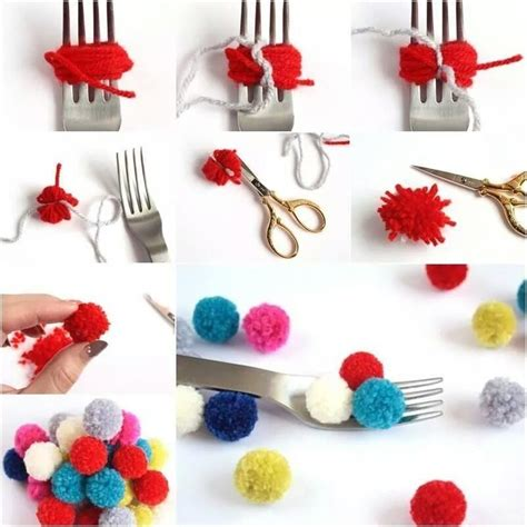 easy diy easy diy pom poms pictures photos and images for
