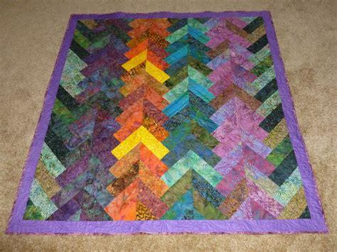 Braid Quilt Free Pattern by The Batik Braid Quilt