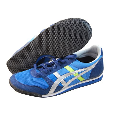 mens onitsuka tiger ultimate 81 athletic shoe asics mens onitsuka tiger ultimate 81 blue running shoes