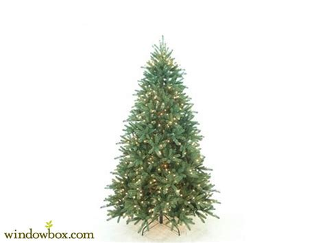 safe christmas trees pre lit fire retardant windowbox com