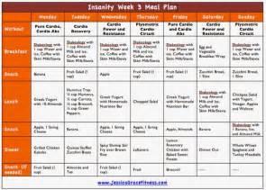 grace fitness insanity week 3 meal plan