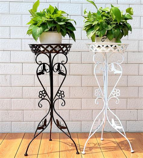 wrought iron flower money plant flower single european