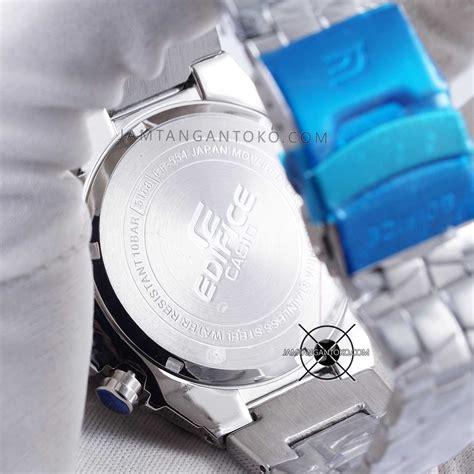 Jam Casio Edifice Ef 303 Silver Plat Hitam Ori Bm harga sarap jam tangan edifice ef 554sp 1av