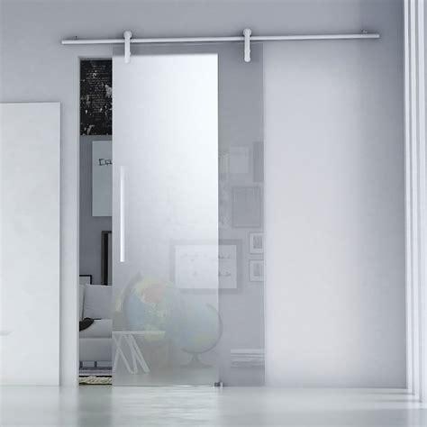 porta scorrevole porta scorrevole ermes in cristallo satinato acquista da obi