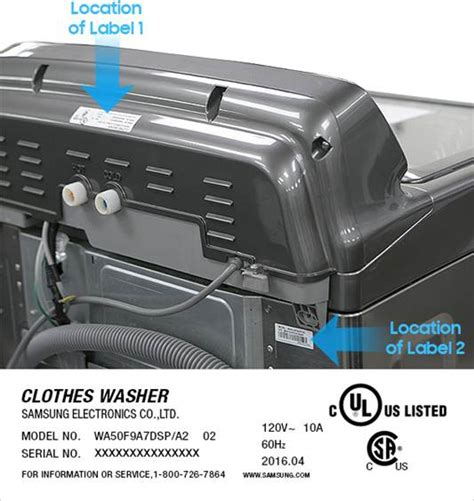 Samsung Washer Stickers samsung recalls top load washing machines due to risk of