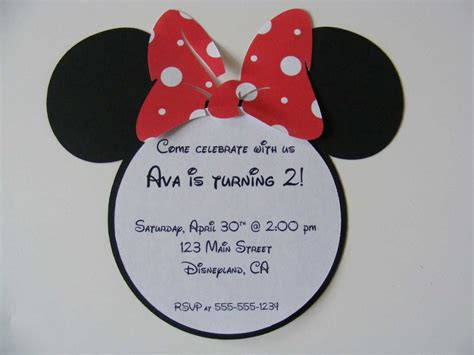 minnie mouse invitation template free free muse templates out of darkness