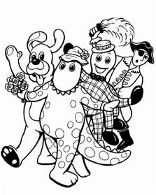 Wiggles Coloring Page free printable wiggles coloring pages for and tv show coloring pages