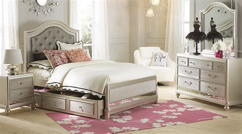 teen full bedroom sets sofia vergara petit paris chagne 6 pc full panel