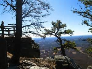 view from the top of pilot mountain picture of pilot