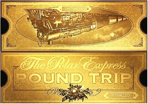 gallery polar express clip art ticket