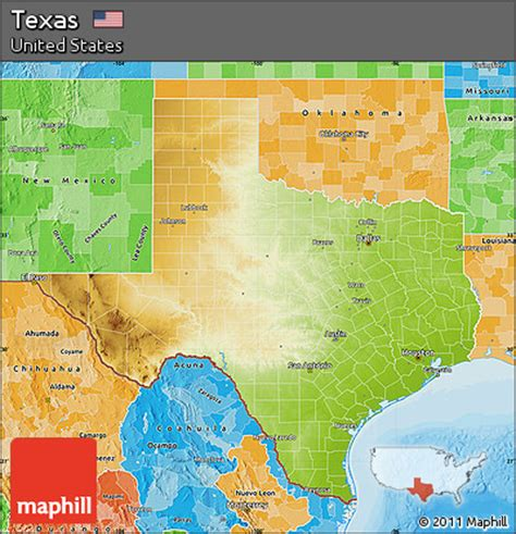 physical map texas texas physical map swimnova