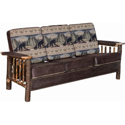 log couch log sofa timberland sofa rustic furniture mall by timber