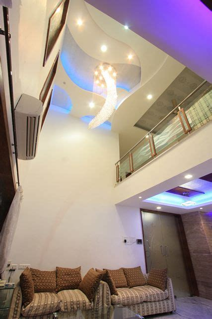 Double Height Ceiling Living Room In India Height Ceiling Living Room