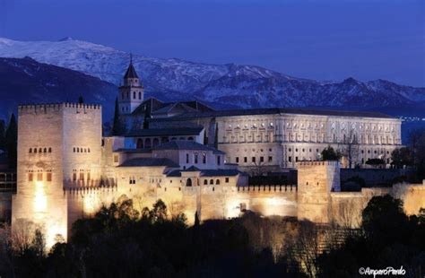 Alhambra Palace, Spain     Amazing Places